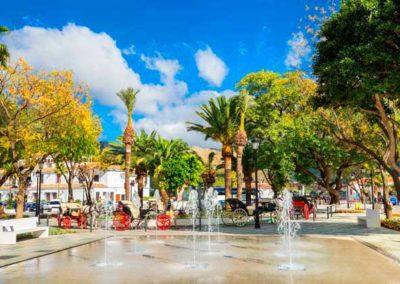 Mijas town square