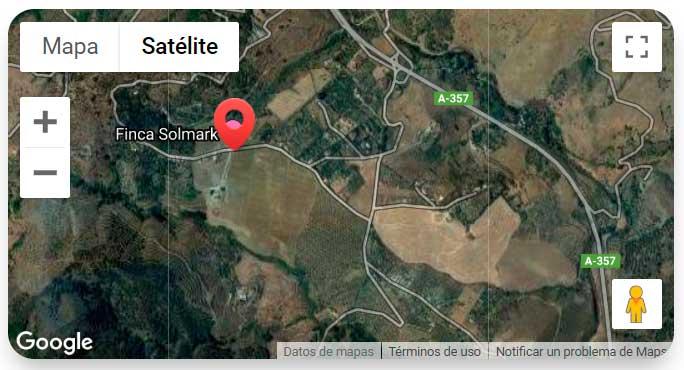 Finca Solmark Google Map