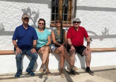 Petri Lehmuskoski con familia