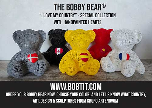 The Bobby Bear - I Love my country