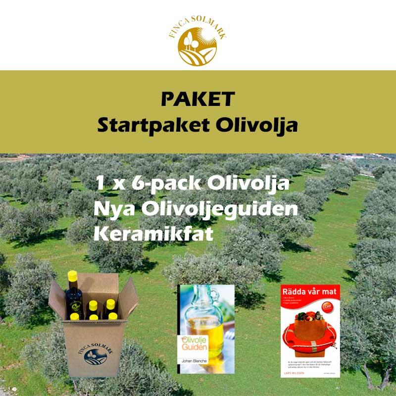 Startpaket Olivolja - Finca Solmark