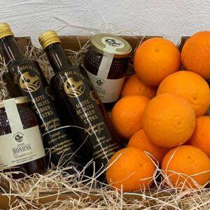 Paket Olivolja Selected och Apelsin - Honung - Finca Solmark
