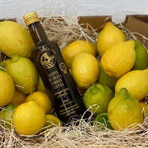 Paket Olivolja Selected och Citroner - Finca Solmark