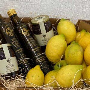 Paket Olivolja Selected och Citroner - Honung - Finca Solmark