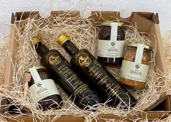 Paket Olivolja Selected - Honung - Bipollen - Finca Solmark