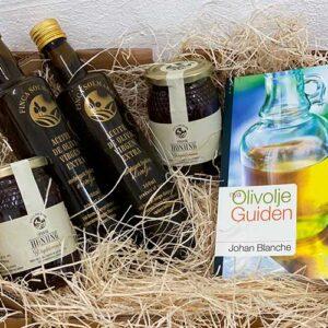 Paket Olivolja Selected Honung - Nya Olivoljeguiden - Finca Solmark